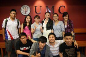 Sinh viên quốc tế tại Upper Madison